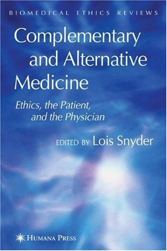 Complementary and Alternative Medicine (Biomedical Ethics Reviews (closed)) (Alternative Medicine Review compare prices)