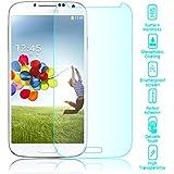 delightable24 Hartglas Schutzglas Tempered Glass Displayfolie SAMSUNG GALAXY S4 Smartphone - Kristall Klar