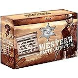 Le Western en haute définition - L'homme des hautes plaines + Joe Kidd + Sierra torride + Une Bible et un fusil + La caravane de feu [Blu-ray]