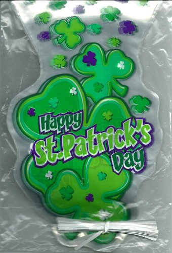 Happy St. Patrick's Day Treat Bags 20 ct Shamrock