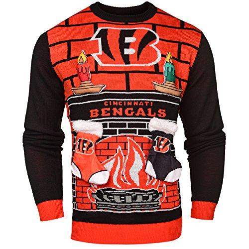 NFL Cincinnati Bengals Ugly 3D Sweater