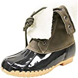 Sporto Womens Delmar Leather Duck Boot