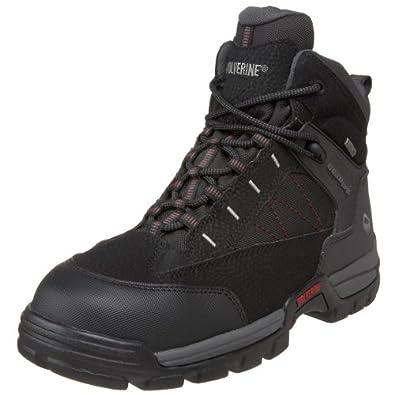 Wolverine Men's W02363 Amphibian Boot, Black, 7 M US