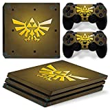 GoldenDeal PS4 Pro Skin and DualShock 4 Skin - Zelda Link - PlayStation 4 Pro Vinyl Sticker for Console and Controller Skin