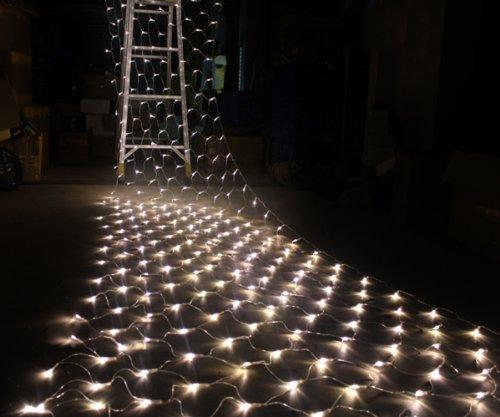 300 LED Warm White Net Mesh Fairy String Light Wedding Lights