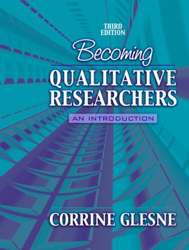 Becoming Qualitative Researchers: An Introduction (3rd...