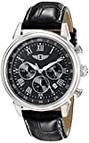 I By Invicta Men's 90242-001 Stainless Steel Watch with Black Band