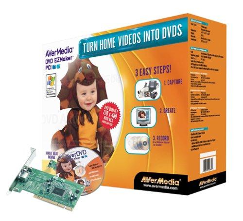 AverMedia EZMaker DVD PCIB00006LHLJ : image