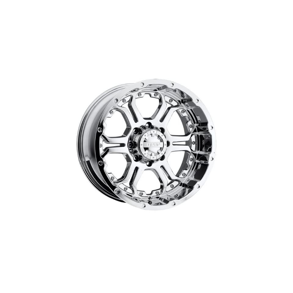 Gear Alloy Recoil 20x9 Chrome Wheel / Rim 5x5.5 with a 10mm Offset and a 107.95 Hub Bore. Partnumber 715C 2098610