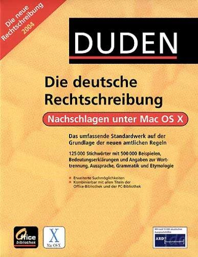 duden die deutsche rechtschreibung mac duden co. Black Bedroom Furniture Sets. Home Design Ideas