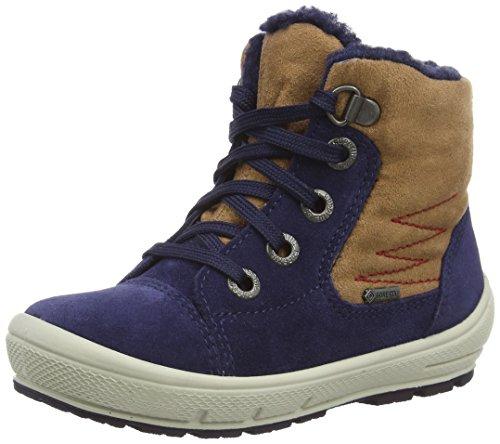 Superfit GROOVY, Sneaker a collo alto imbottiti, a mezza gamba Ragazzo, Blu (Blu (OCEAN KOMBI 81)), 19