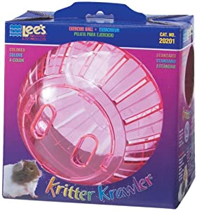 Lee's Kritter Krawler Standard Exercise Ball, 7-Inch, Colored