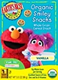 Earth's Best Organic Sesame Street Vanilla Smiley Snacks, 3.5 Ounce Boxes (Pack of 6)