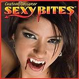 SEXY BITES CUSTOM VAMPIRE FANGS TEETH womens size SMALL Twilight True Blood NEW