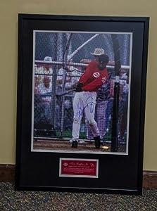 Ken Griffey, Jr., Cincinnati Reds - framed autograph with Upper Deck Video COA by UpperDeck