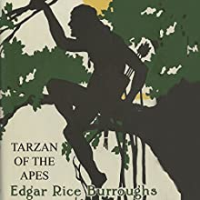 Tarzan of the Apes Audiobook by Edgar Rice Burroughs Narrated by Alan Munro