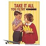 CAJ8019 Jumbo Funny Birthday Card: 'E...