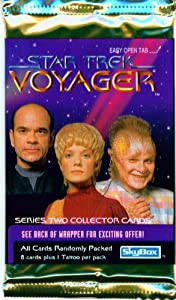 Star Trek: Voyager Series 2 Collector Booster Pack(8 Cards)