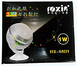Roxin Underwater Aquarium Colour Chaning LED 1Watt IP68 Certified, High Quality (Ideal for Aquariums)