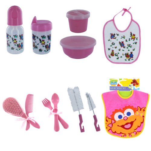Sweet Baby Gift Set for Girls - Pink