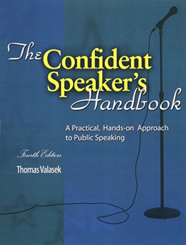 The Confident Speaker's Handbook: A Practical, Hands-on Approach to Public Speaking PDF