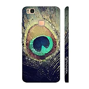 Enthopia Designer Hardshell Case PEACOCK HEAVEN Back Cover for Huawei P9 Lite