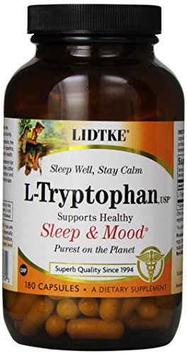 Lidtke Technologies L-Tryptophan For Pets, 180 Capsules