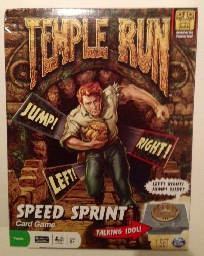 Temple Run Elect Card Game