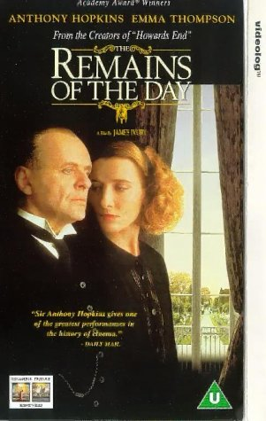 Remains Of The Day [VHS] [UK Import]