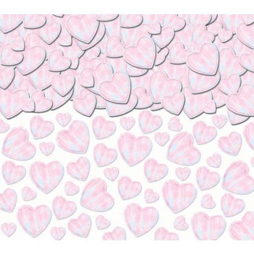 Amscan Hearts Iridescent Confetti, 2.5 oz. - 1