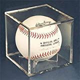 UV Protected Square Ball Holder Display Case Baseball