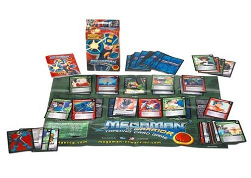 Mega Man NT Warrior Trading Card Game Power Up! Starter Deck Mega Man