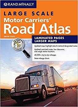 Rand Mcnally Large Scale Motor Carriers Road