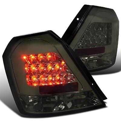 Amazon.com: Chevy Aveo Aveo5 Ls Lt Hatchback Smoked Lens Led Tail Lights