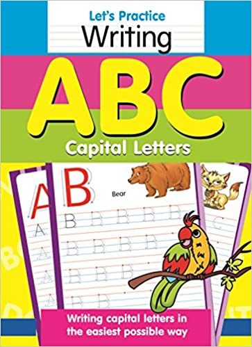 Buy Let's Practice Writing Abc Capital Lette Book Online at Low ...