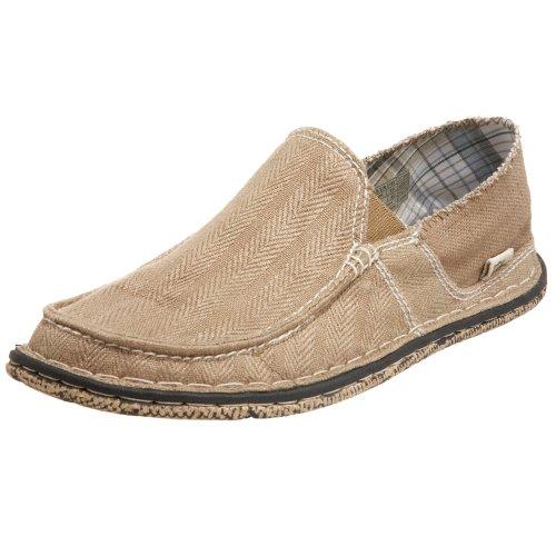 Simple Men's Gumshoe Slip On,Lead Gray,11 M