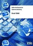 echange, troc Max Exander - Excel 2000. Reihe Kaufmännische Datenverarbeitung.