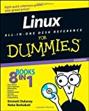 img - for Linux All-in-One Desk Reference For Dummies by Emmett Dulaney (2008-07-08) book / textbook / text book