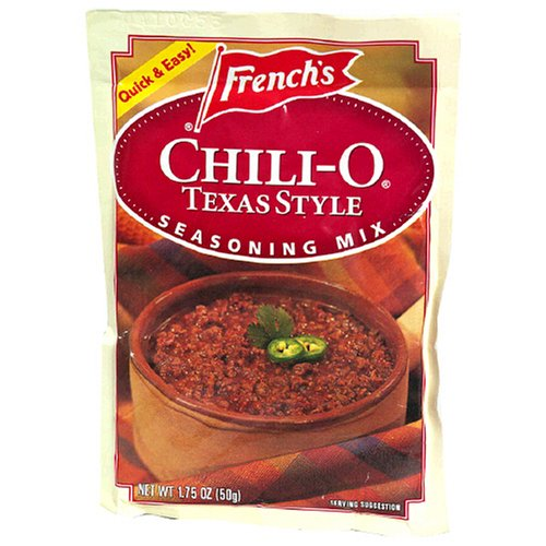 Buy French's Chili-O Texas Style Seasoning Mix , 1.75-Ounce Packets (Pack of 18) (French's, Health & Personal Care, Products, Food & Snacks, Seasonings Herbs & Spices)