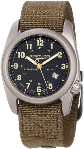 c63ae52fab7 Bertucci Men s 12700 A 2T Original Classics Durable Titanium Field Watch