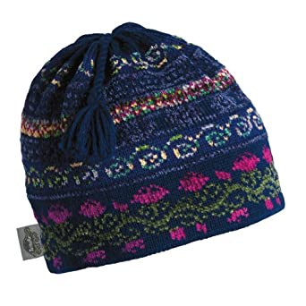 Buy Turtle Fur - Ladies Lady Fairisle, Classic Wool Ski Tassel Hat by Turtle Fur