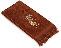 Avanti Rio Grande Fingertip Towel, Copper
