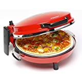 """DLD 9016 Pizzaofen Pizzamaker Alfredo mit Steinbackfl�che und Bratpfannevon """"Gautzsch (FO)"""""""