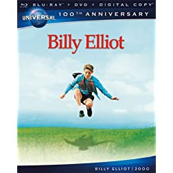 Billy Elliot [Blu-ray + DVD + Digital Copy] (Universal's 100th Anniversary)