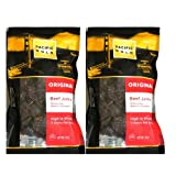 Pacific Gold Original Beef Jerky with Natural Smoke Flavor Added: 2 Packs of 8 Oz - Cos14* * * * - - 90 DAY NO QUESTIONS ASKED GUARANTEE. You can return them to us if these items are not acceptable and you require an exchange or refund. - - Next ...