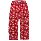 Liverpool FC Official Football Gift Mens Lounge Pants Pyjama Bottoms Red Medium