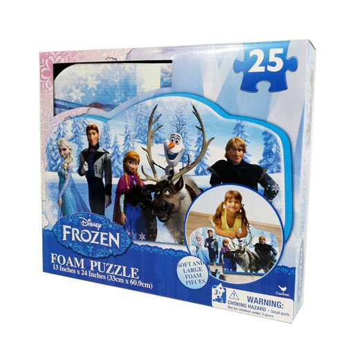 Frozen Foam Puzzle (25-Piece) Styles Will Vary - 1