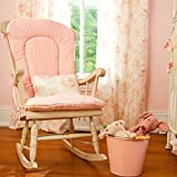 Carousel Designs Baby Pink Chenille Rocking Chair Pad