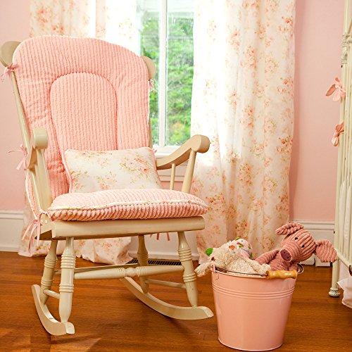 Carousel Designs Nursery Rhyme Toile Sage Rocking Chair Pad