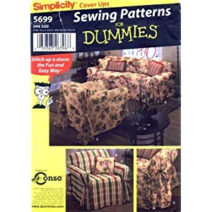 CHAIR COVER Sewing Pattern Five Waverly Covers by patterns4you